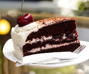 black forest, cake, and delicious image
