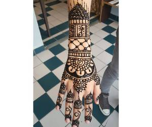 black, cool, and henna image