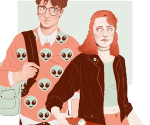 dana scully, fox mulder, and txf image
