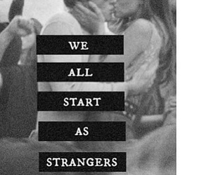 love, stranger, and kiss image