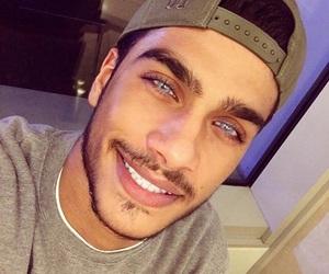 boy, eyes, and blue image