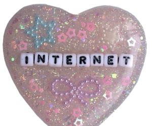 internet and heart image