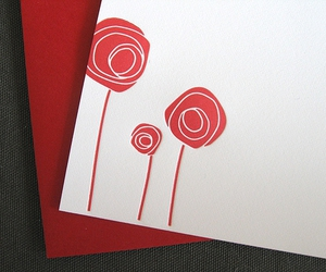 card, letterpress, and Paper image