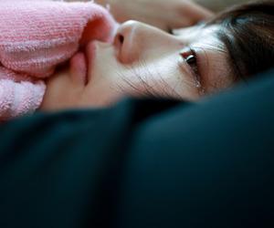 tears, girl, and asian image