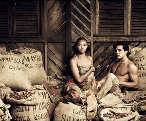 cocoa, plantation, and couple image
