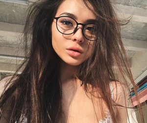 glasses and hair image