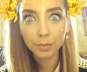 c, snapchat, and officialzoella image