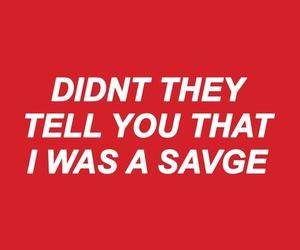 savage, rihanna, and needed me image