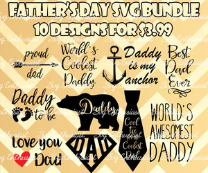 dad, svg, and father's day image