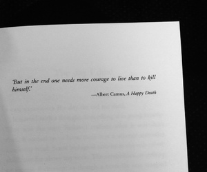 albert camus, brave, and courage image