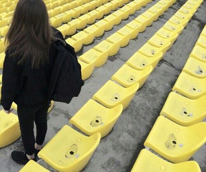 yellow, black, and grunge image