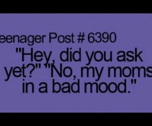 mom, teenager post, and true image