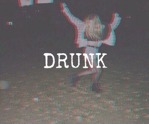 drunk, grunge, and young image