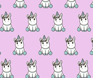 unicorn, wallpapers, and Wallace image