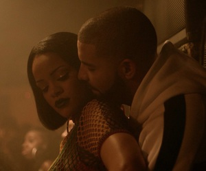 rihanna, Drake, and work image