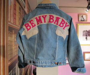 jacket, grunge, and baby image