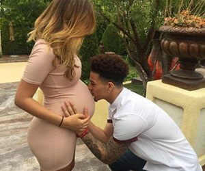 baby girl, austin mcbroom, and catherine paiz image