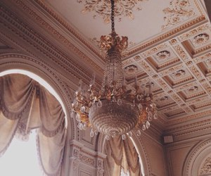 architecture, chandelier, and royal image