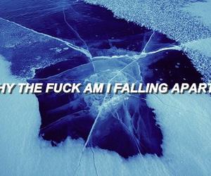 blue, ice, and Lyrics image