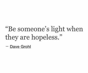 quote and hopeless image