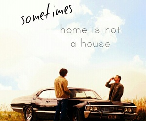 dean, home, and impala image