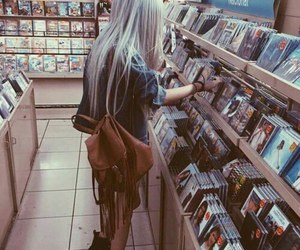 black, clothes, and music image
