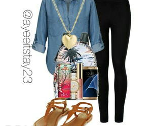 fashion, Polyvore, and piinkbling image