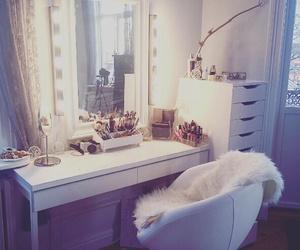 decor, home, and makeup image