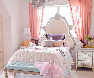 bedroom, home, and decorating image