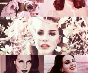 background, pink, and ️lana del rey image