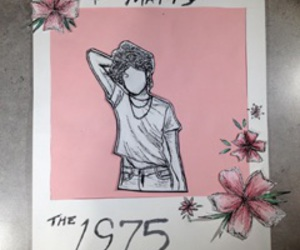 indie, the 1975, and art image