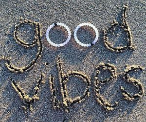 summer, beach, and good vibes image