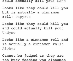 accurate, characters, and cinnamon rolls image