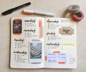 planner and school image