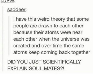 aesthetic, soul mates, and tumblr image