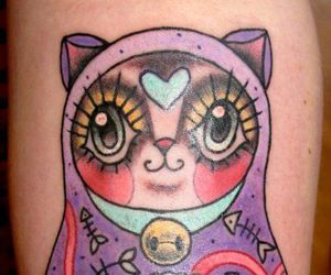 cat, ink, and tat image