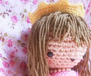 amigurumi, crochet, and pink image