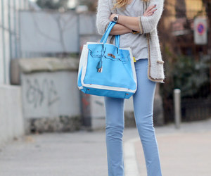 beige, blonde, and blue image