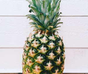 ananas, fruit, and green image