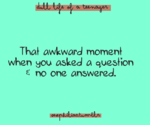 awkward and quote image
