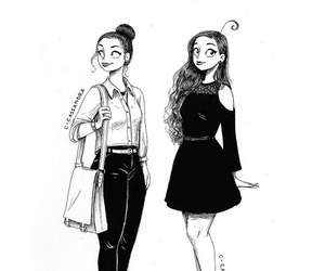artwork, tumblr, and cartoons image