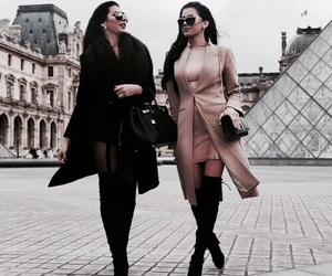fashion, paris, and friends image