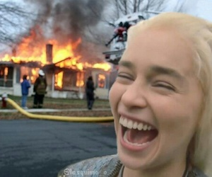 fire and funny image