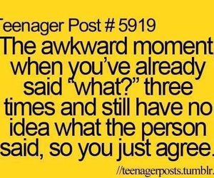 funny, teenager post, and awkward image