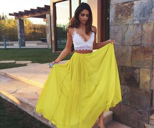 fashion, yellow, and style image