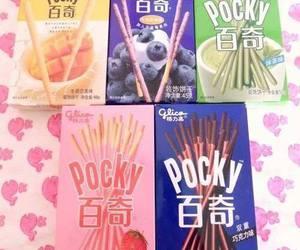 pocky, japan, and chocolate image