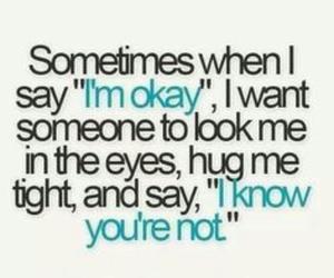 quotes, hug, and okay image