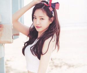 beautiful, apink naeun, and goddess image