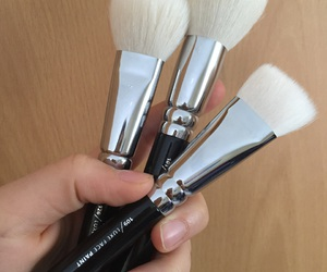 Brushes, color, and eyeshadow image
