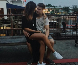 couple, love, and boys image
